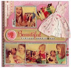 Vintage Barbie & Ken - Scrapbook.com