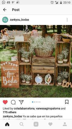 #decoracionjardinesfiesta Seating Arrangement Wedding, Wedding Seating, Boho Wedding, Rustic Wedding, Dream Wedding, Ideas Aniversario, Spanish Wedding, Outdoor Wedding Decorations, Burgundy Wedding