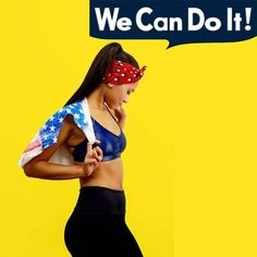 Pin for Later: You Can Do It! 15 Rosie the Riveter Costume Ideas