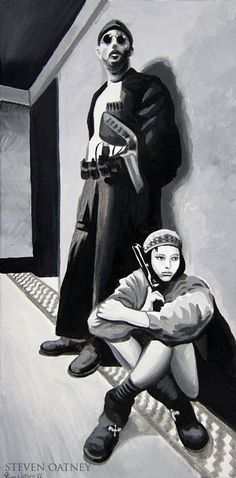 Mathilda and Leon (Natalie Portman and Jean Reno) Jean Reno, Casablanca, Work In French, Dark Wallpaper Iphone, Natalie Portman, I Movie, Movies And Tv Shows, My Arts, Actresses