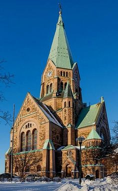 Sofia Kyrka Iglesia en Sodermalm - Estocolmo, Suecia