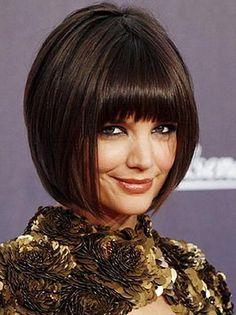 Katie Holmes 45-Degree Haircut