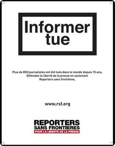 More than 850 journalists have died in the world in the last 15 years. Reporters Sans Frontières, Actus, Brain Food, Journalism, 15 Years, Freedom, Passion, Google, Photos
