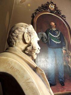 V. Ragusa, Busto del Sindaco marchese Pietro Ugo, 1900, Palazzo delle Aquile Palermo. [foto di. Gaetano Celauro]