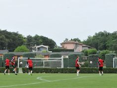Swindon Town pre season in Italy,Summer 2012.