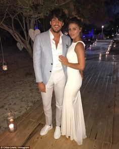 New love: Elsewhere, Chloe has remained relatively quiet on her new romance with Danny Flasher, ever since she confirmed it on Valentine's Day with an intimate Instagram snap
