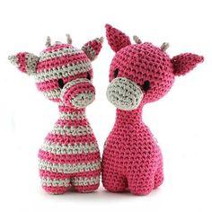 Meet Ziggy Giraffe!! Designed by Oekimoekie (www.facebook.com/oekimoekie). Pattern available (dutch & english) at www.hoooked.nl