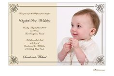 Little Lamb Design Elegant photo invitation