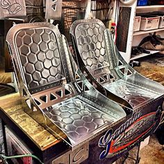 Custom Bomber Seat 8 - Hand Made Seat Co. - Jamey Jordan