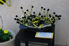 bumble bee party fun headbands for guests!