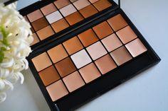 RCMA Foundation/Concealer palette & No-color powder