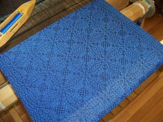Handwoven Table Runner  15 x 72  Dresser Scarf  by KnitSpinLove, $89.00