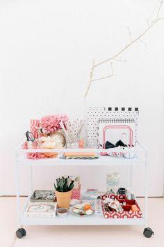 Ways to organize and display decor | theglitterguide.com