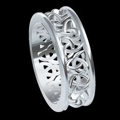 Celtic Knotwork Trinity Knot Ring .STL Model Digital File For 3D Printing Size 12 (00008) DIY Custom Made Jewelry http://www.etsy.com/listing/151877680/celtic-knotwork-trinity-knot-ring-stl?ref=sr_gallery_11_search_query=Jewelry_view_type=gallery_ship_to=MK_page=2_search_type=all
