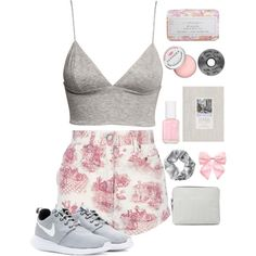innocent by serenitychills on Polyvore featuring polyvore, fashion, style, H&M, Jean-Paul Gaultier, NIKE, 3.1 Phillip Lim, Monki, Pumpkin Patch and Sephora Collection