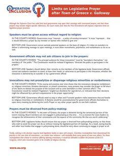 Greece NY-prayer guidelines