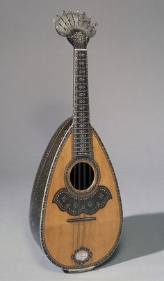 Mandolino Place of origin: Rome, Italy (Made) Date: 1865 (Made) Artist/Maker… Ukulele, Violin, Sound Of Music, Soul Music, Custom Guitars, Indie Music, Vintage Guitars, Musical Instruments, Rome Italy