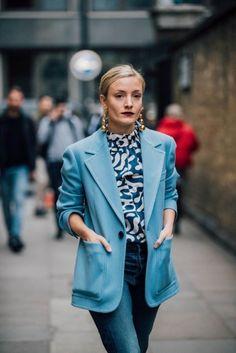 El Mejor Street Style Invernal De La Semana De La Moda De Londres – Cut & Paste – Blog de Moda