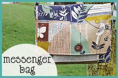 Messenger Bag + Tutorial
