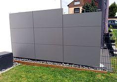 hardy backer board fence | Modern fence, Fence design, Fence