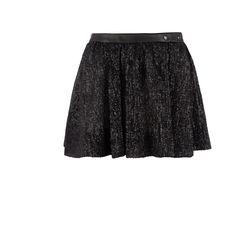Mini-jupe à paillettes femme  MAJE