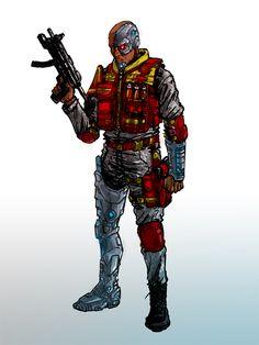 Deathlok Agents of Shield   Deathlok: Agents of S.H.I.E.L.D. Concept by GuitarAtomik