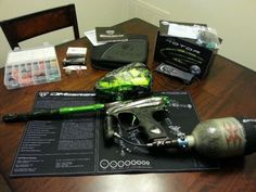 Dye+matrix+DM13+tree+lime+green+2013+paintball+gun+marker+package+rotor+eclipse