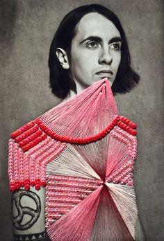 MAURIZIO ANZERI - Embellished vintage photos