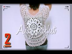 BLUSA #HORQUILLA Y FLOR A #CROCHET 1 de ( 2 ) - YouTube