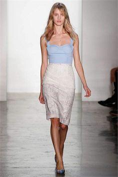 Sfilata Peter Som New York - Collezioni Primavera Estate 2013 - Vogue