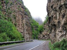 Chalous Road - The road between Tehran and Chalous in Mazandaran Province, Iran (Persian: جاده چالوس)