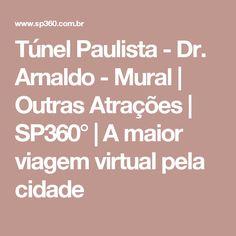 Túnel Paulista - Dr. Arnaldo - Mural   Outras Atrações   SP360°   A maior viagem virtual pela cidade