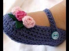 Crochet Español Bebe, Crochet Bebés, Crochet Para, Crochet Buscar, Tejido Crochet Bebe, Babys Patucos, Crochet Bebe Paso A Paso, Zapatitos Crochet Paso A
