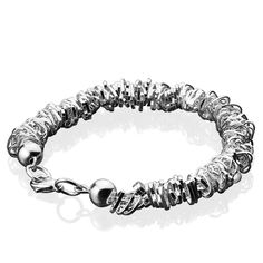 ce0d40693ffd0 Beaded Heart Bracelet - from Newbridge Silverware online store Ireland