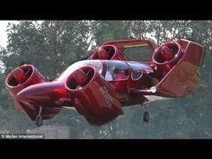 Paul Moller's Skycar.