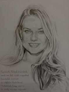 portré, ceruza rajz ,fotó, A/3 Female, Art, Art Background, Kunst, Performing Arts, Art Education Resources, Artworks