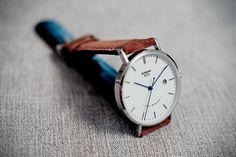 Rossling Co Automatic Silve White Watch
