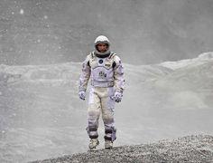 Matthew Mconaughey in Christopher Nolan's Interstellar