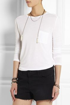 T by Alexander Wang | Classic jersey top
