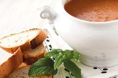 Śródziemnomorski chłodnik z ogórków i chleba #intermarche #chłodnik #kuchnia śródziemnomorska