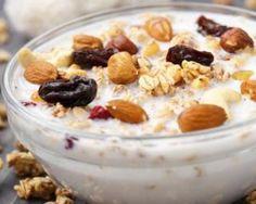 Yaourt gourmand au muesli et fruits secs