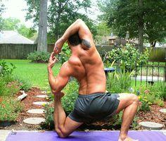 dudes doing yoga