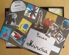 Una caja llena de actividades para trabajar a Miró en infantil.