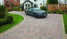 Driveway and patio specialists in Cardiff www.greenandcleanlandscapes.co.uk