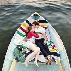 Hudson Bay Blanket - Romantic