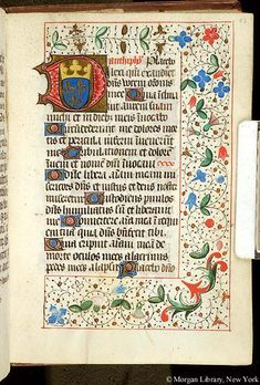 Book of Hours, MS H.4 fol. 53r - Images from Medieval and Renaissance Manuscripts - The Morgan Library & Museum