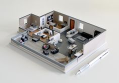 Impression 3D d'un appartement