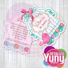 Quiero compartir lo último que he añadido a mi tienda de #etsy: Invitacion bautizo Jaula, editable esn Power Point, Photoshop y studio3 http://etsy.me/2mP2pCq #papeleria #rosa #bautizo #verde #menta #pajarito #mint #detallesyuny