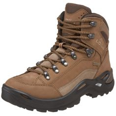 Lowa Womens Renegade GTX Mid Hiking BootTaupeSepia75 M US >>> Continue to the product at the image link.
