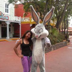 Bugs & me on Six Flags México.